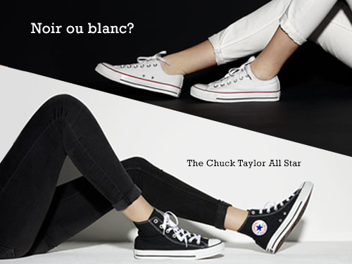 Chuck Taylor All Star Black And White