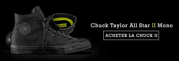 Chuck Taylor All Star II Mono Black